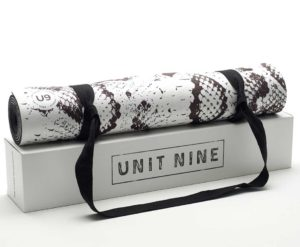 Unit Nine white python mat
