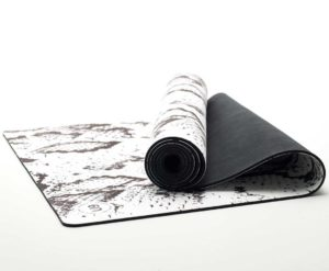 Unit Nine white python yoga mat