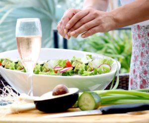 Pool side Salad