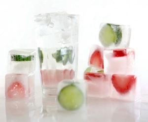 Hydration Fruit Ice Cubes