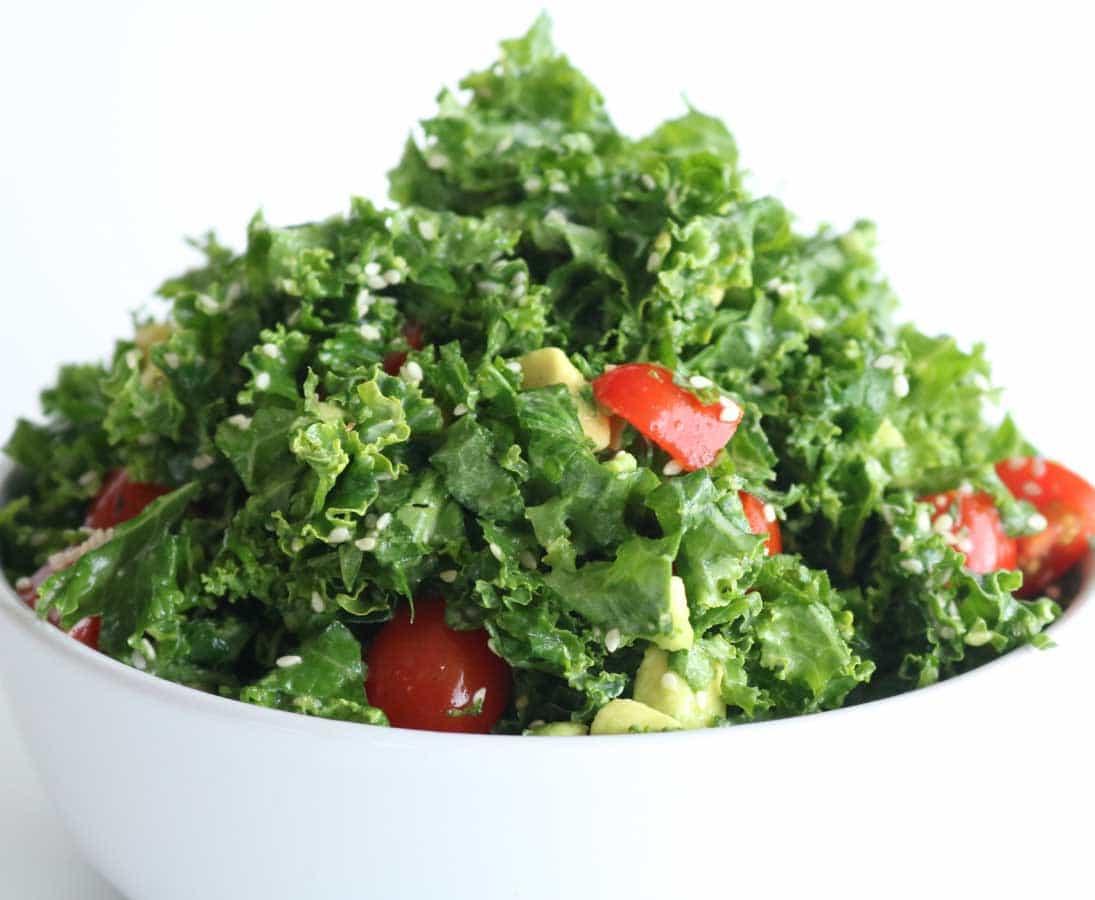 Tasty, healthy & delicious kale salad recipe