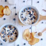 Overnight Pear Oats are quick and easy to make. Full of lots of healthy nutrients, make them before bed and enjoy in the morning.