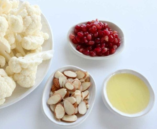 Roasted Cauliflower Ingredients