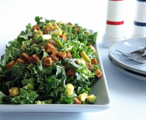 Iron rich salad perfect for those looking for a meat free option!