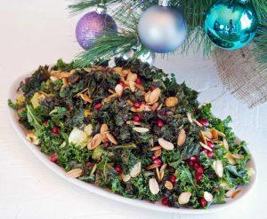Crispy Kale & Brussels Salad