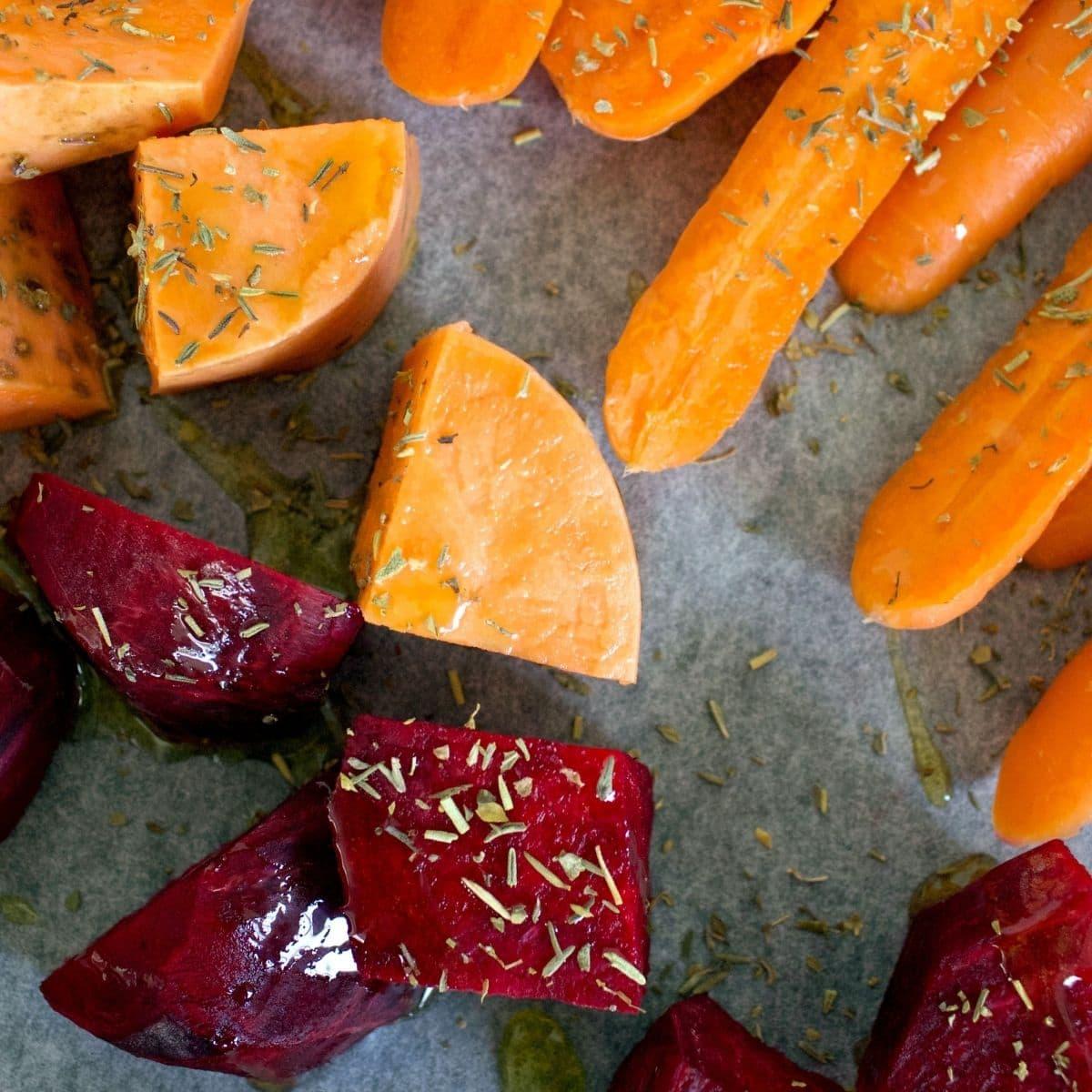 Antioxidant Rich Roasted Veggies