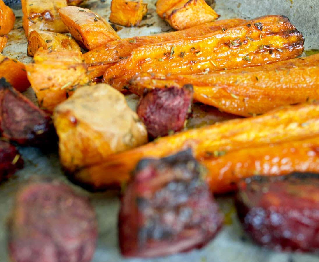 Antioxidant-Rich Roasted Veggies