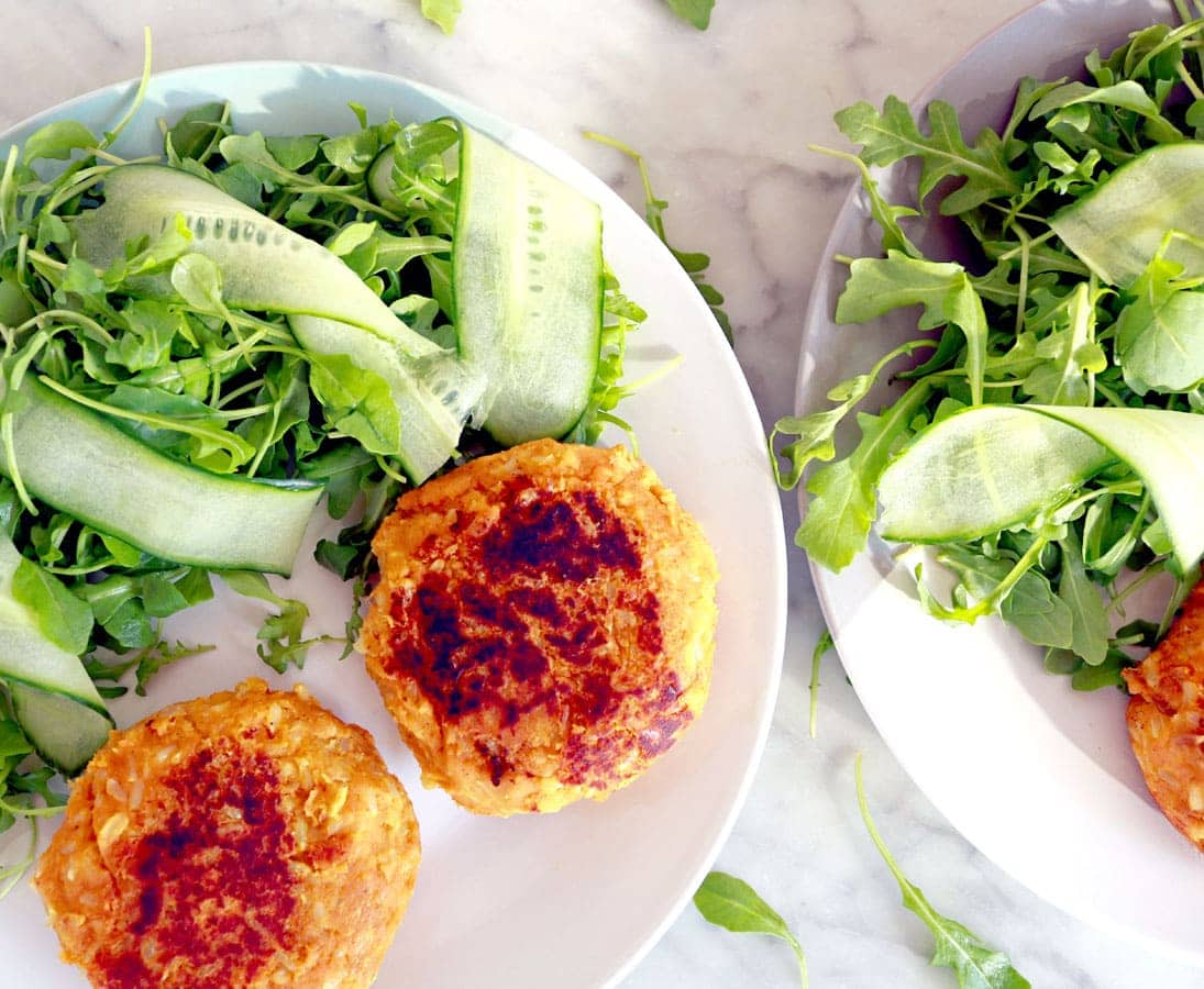 Brown Rice & Sweet Potato Patties
