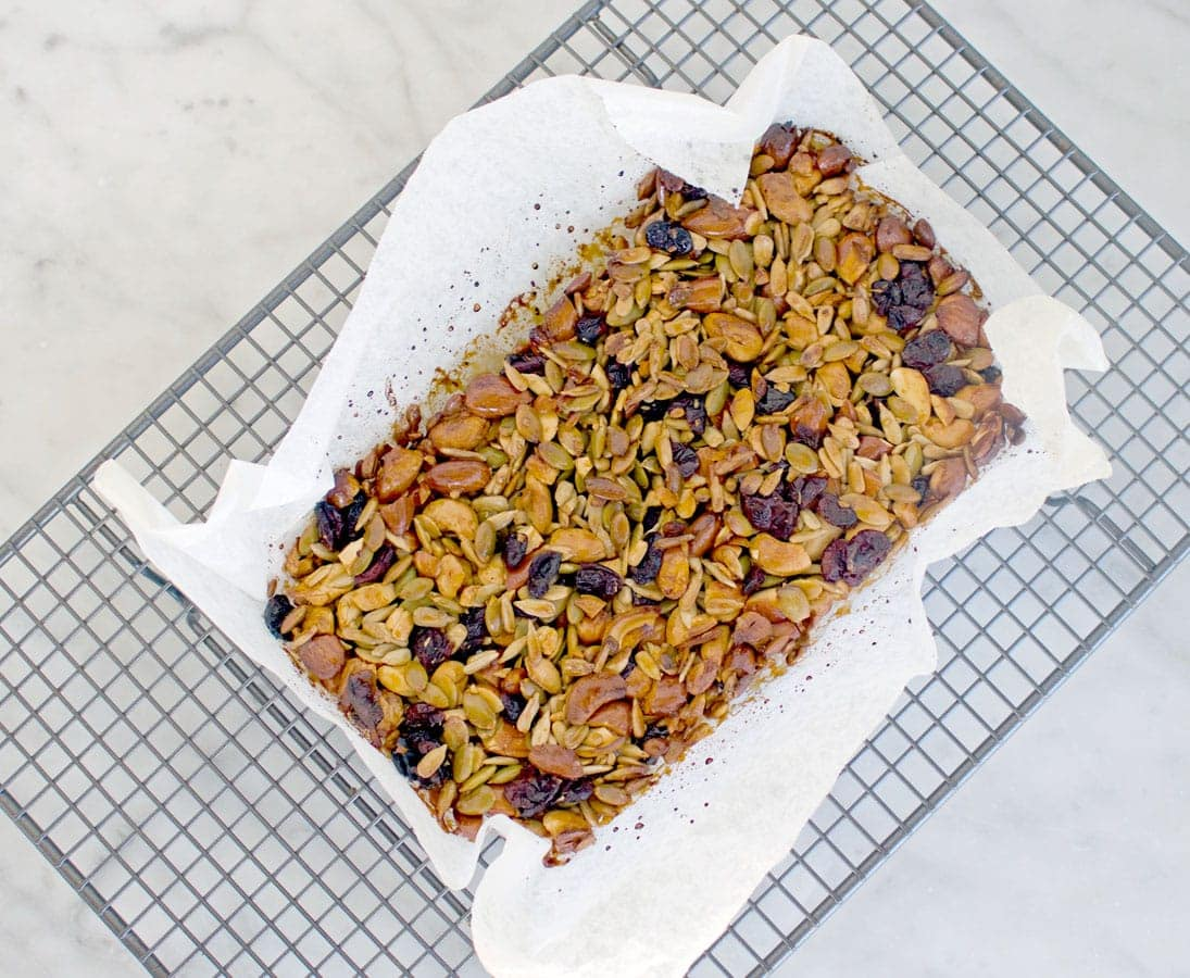 Cranberry Healthy Nut Bars