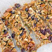 Cranberry Health Nut Bars