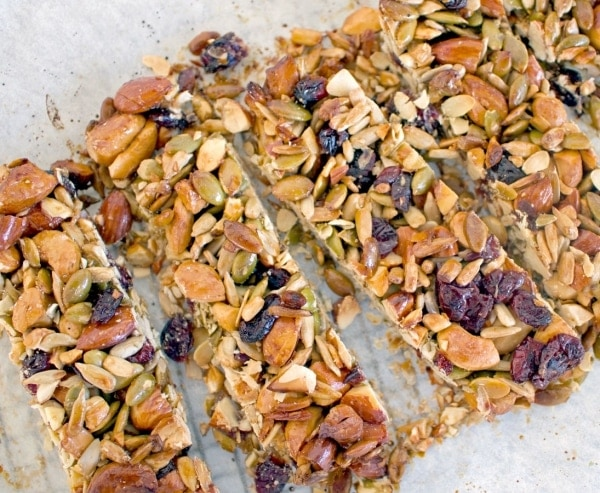 Cranberry Health Nut Bars