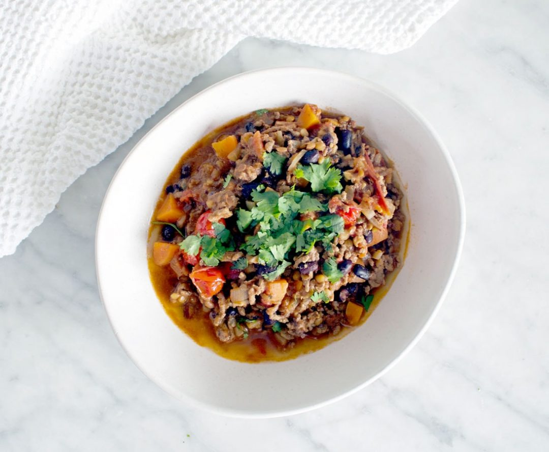 Black Bean Chilli Healthy Recipe By Amy Savage Nutrition