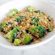 Sesame Soy Rice