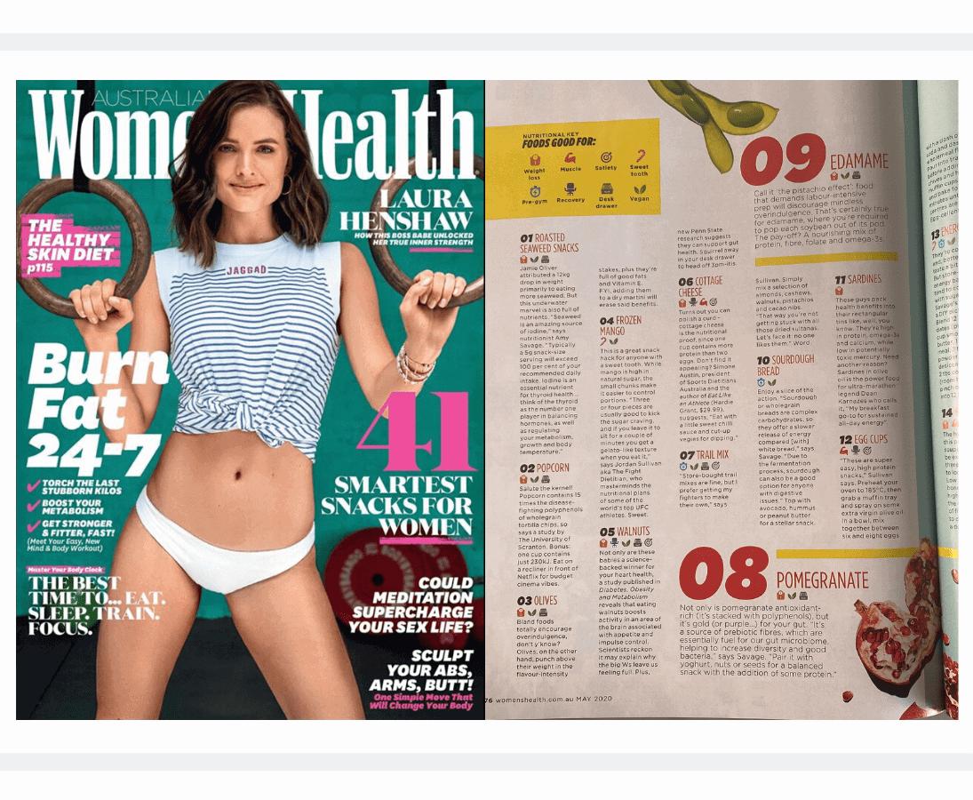 Womens Health May 2020