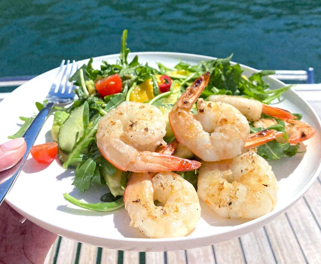 Prawn, Mango & Chilli Salad