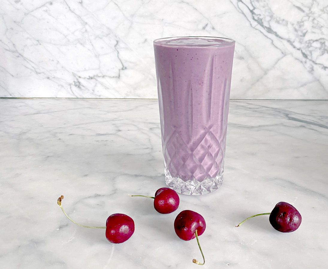 Cherry Chia Smoothie