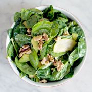 Pear, Walnut & Avocado Salad