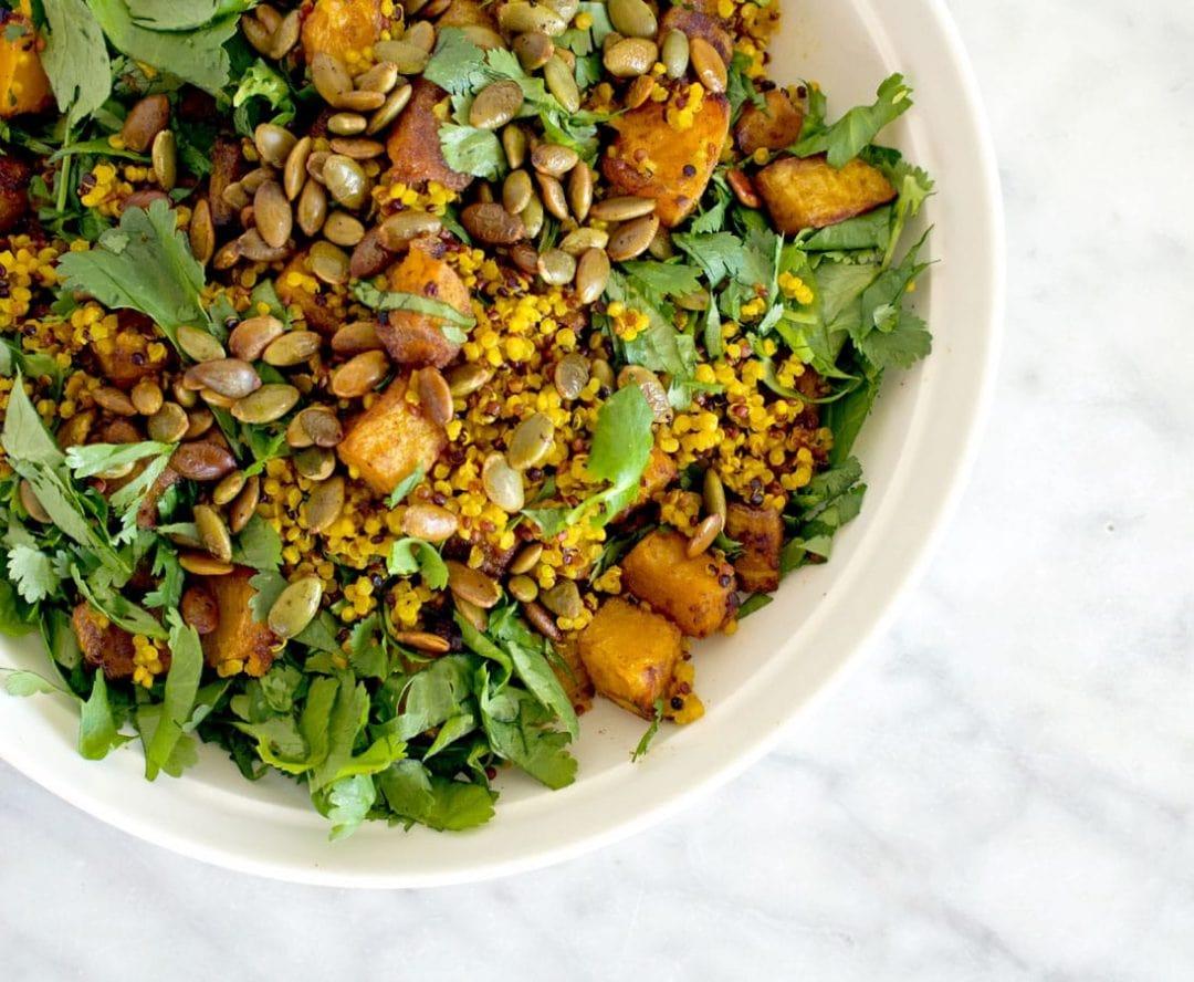 Curried Quinoa & Pumpkin