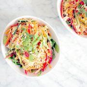 Chicken Vermicelli Noodle Salad